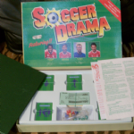 Soccer Drama 1988 Football strategy board game rare find